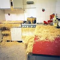 Pasta everywhere